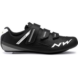 Northwave Core Road Shoes Black/White 45.5