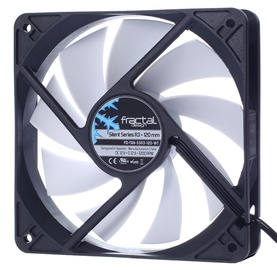 Fractal Design Silent Series R3 120mm FD-FAN-SSR3-120-WT