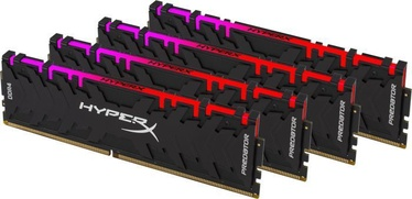 Kingston HyperX Predator RGB 64GB 3000MHz DDR4 CL15 KIT OF 4 HX430C15PB3AK4/64
