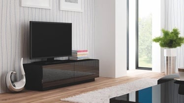 Televizoriaus staliukas Livo RTV 160S juodas, 160 x 40 x 38 cm
