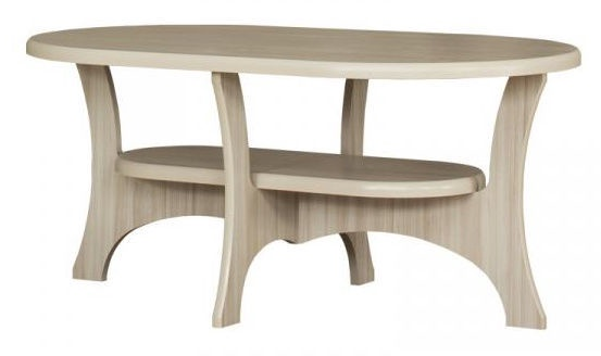 Kavos staliukas Bodzio S13, smėlio, 1300x800x590 mm
