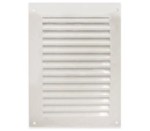 Ventilācijas reste Europlast N250x170mm, balta