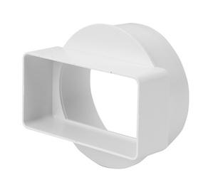 Pāreja Europlast, 110 x 55 mm, ⌀ 100 mm