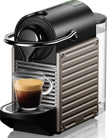 Nespresso Pod Coffee Machine C61 Pixie XN304T Electric Titan