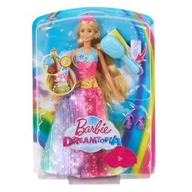 Žaislinė šviečianti ir grojanti lėlė barbė Barbie FRB12, 33 cm