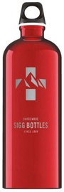 Sigg Water Bottle Mountain Red 1L