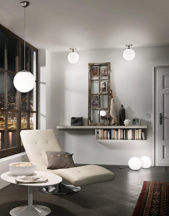 Griestu lampa Eglo Rondo 85263, 60W E27 110x30cm