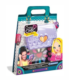 Kosmetikos rinkinys vaikams su veidrodėliu Clementoni Crazy