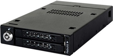 "Icy Dock ToughArmor MB992SKR-B 2x2.5"" RAID SATA"