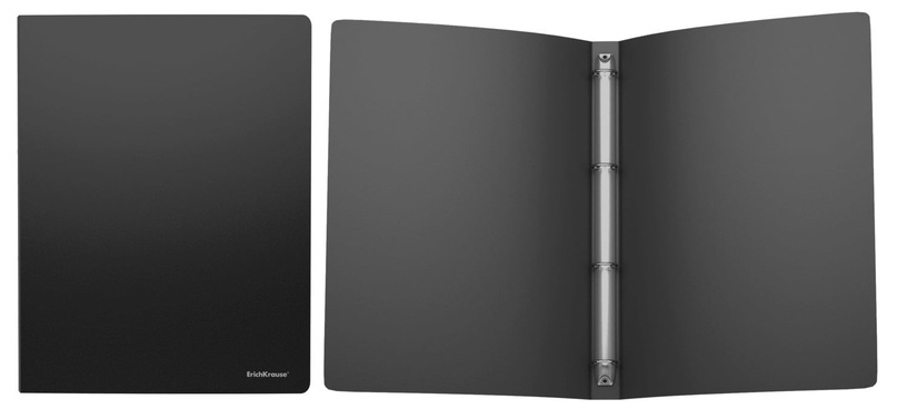 ErichKrause Ring Binder Classic With 4 Rings 24mm A4 Black