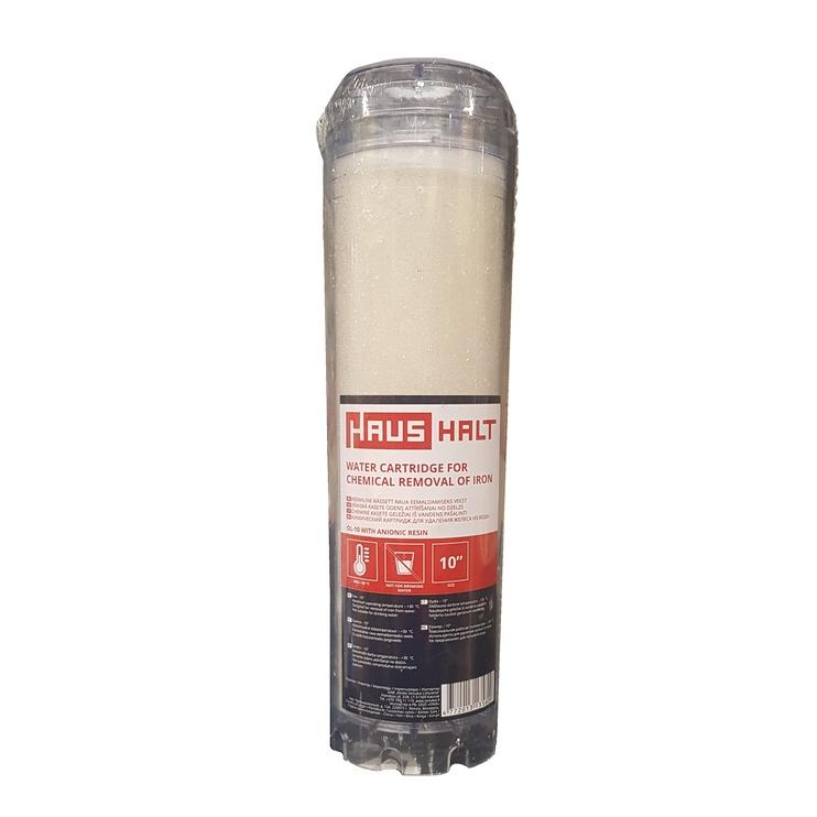 Кассета для фильтра HausHalt Water Cartridge For Chemical Removal If Iron OL-10