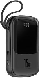 Ārējs akumulators Baseus PPQD-B01 Q Pow Black, 10000 mAh