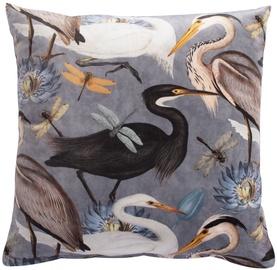 Декоративная подушка Home4you Holly, многоцветный, 450x450 мм