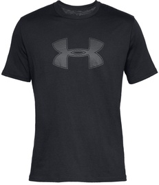 Under Armour Mens Big Logo T-Shirt 1329583 001 Black S
