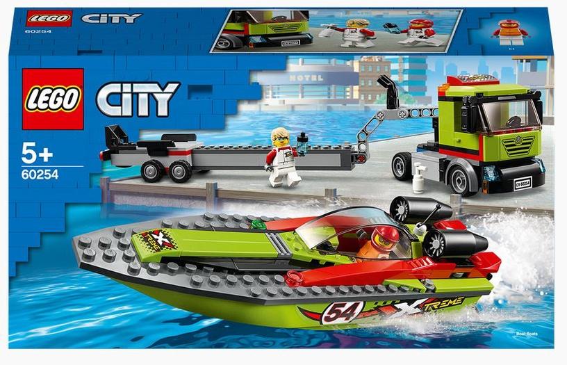 Konstruktor LEGO City Kiirpaadi transpordiveok 60254, 238 tk