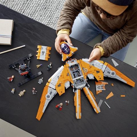 Конструктор LEGO Marvel The Guardians Ship 76193, 1901 шт.