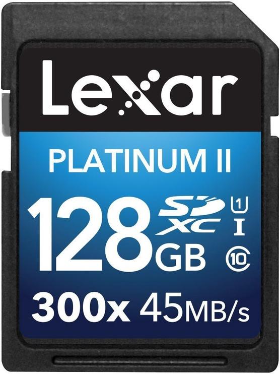 Lexar 128GB SDXC 300X Premium II Class 10 U1