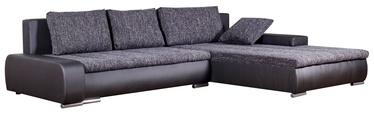 Platan Corner Sofa Tivano Black/Dark Gray