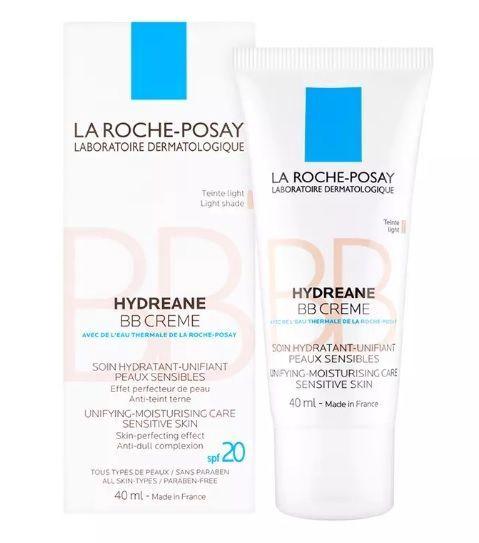 BB sejas krēms La Roche Posay Hydreane SPF20 Medium, 40 ml