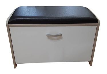 ML Meble PIK05N Shoe Cabinet White/Black
