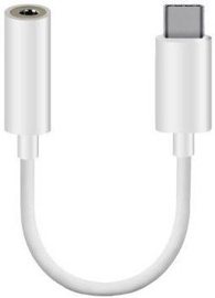 Mocco CM20 3.5mm To USB-C Adapter White
