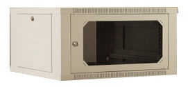 Netrack Wall Cabinet 19'' 6U/400 mm Grey