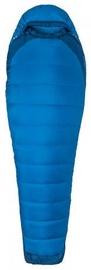 Спальный мешок Marmot Trestles Elite Eco 20 Long Blue, левый, 198 см