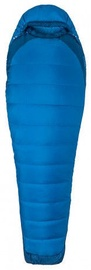 Guļammaiss Marmot Trestles Elite Eco 20 Long Blue, kreisais, 198 cm