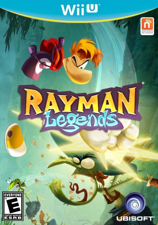 Rayman Legends WiiU