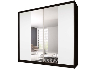 Idzczak Meble Wardrobe Multi 38 183cm Black/White