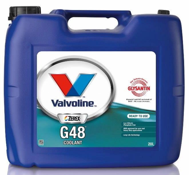 Valvoline Zerex G48 RTU Coolant 20L