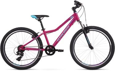 """Kross Lea JR 1.0 12"""" 24"""" Pink Blue Violet Glossy 20"""