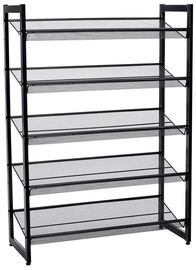 Songmics Shoe Rack Black 74x30.7x104cm