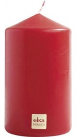 Eika Pillar Candle 14x8cm Red