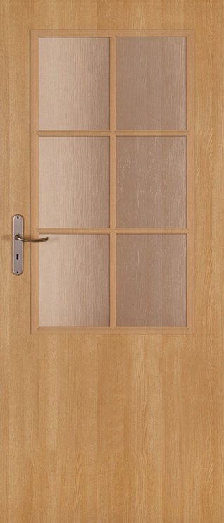 Vidaus durų varčia Classen Natura 2/3, ąžuolo, kairinė, 203.5x84.4 cm