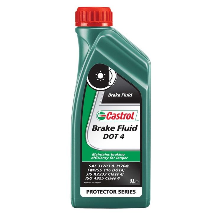 Automobilio stabdžių skystis Castrol Dot 4, 1 l