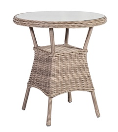 Home4you Toscana Garden Table 65x73cm Beige