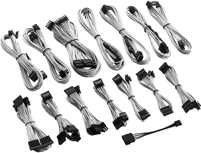 CableMod C-Series ModFlex Full Cable Kit RMi/RMx White