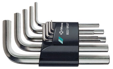 L-seškanšu komplekts 950/9SM N 1,5-10mm, 9 gab