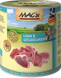 Mac's Lamb & Chicken Hearts 400g