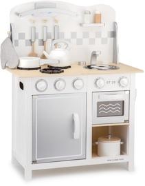 New Classic Toys Bon Appetit Deluxe Kitchen White/Silver 11061