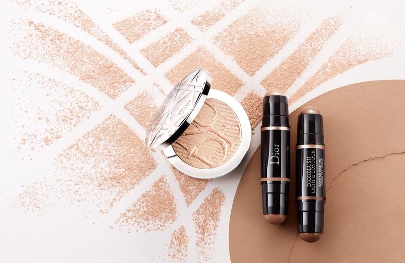 Izgaismojošs korekcijas līdzeklis Christian Dior Diorskin Nude Air Luminizer Shimmering Sculpting Powder 01, 6 g
