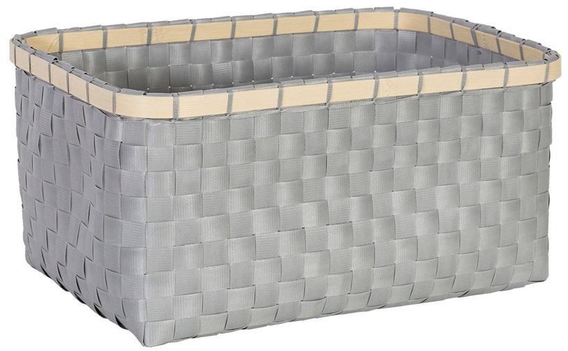 Home4you Basket Lido 1 34x25xH16cm Grey