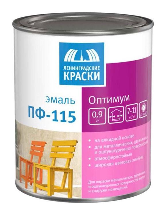 Emaljas krāsa Teks Optimum, PF-115 2,7 kg