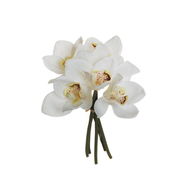 Букет искусственных цветов 80-315809, белый
