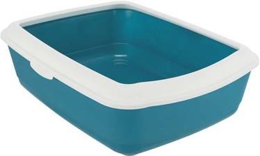 Miskaste Trixie Classic, zila/balta, atvērts, 470x370x150 mm