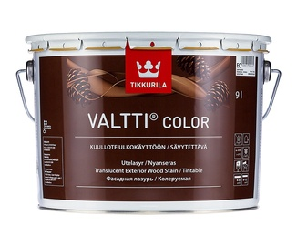 Medienos apsaugos ir apdailos priemonė Tikkurila Valtti color, EC bazė, 9 l