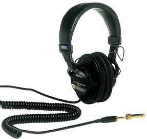 Ausinės Sony MDR-7506 Professional Black