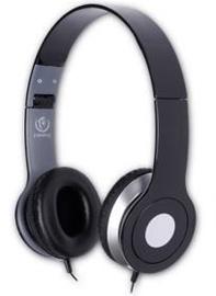Ausinės Rebeltec City Headphone w/ Mic Black