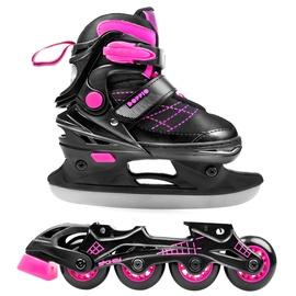 Spokey Doppio 2in1 Rollerblades 926650 Pink 30-33